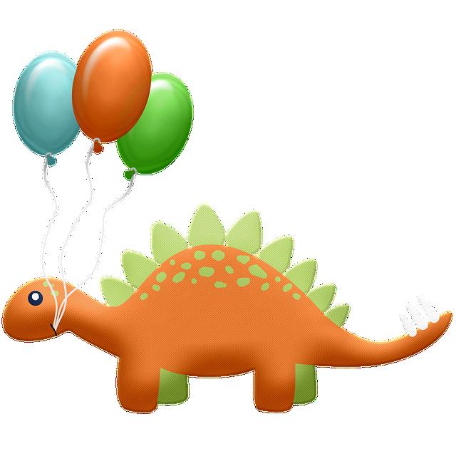 Une décoration dinosaure pour votre anniversaire