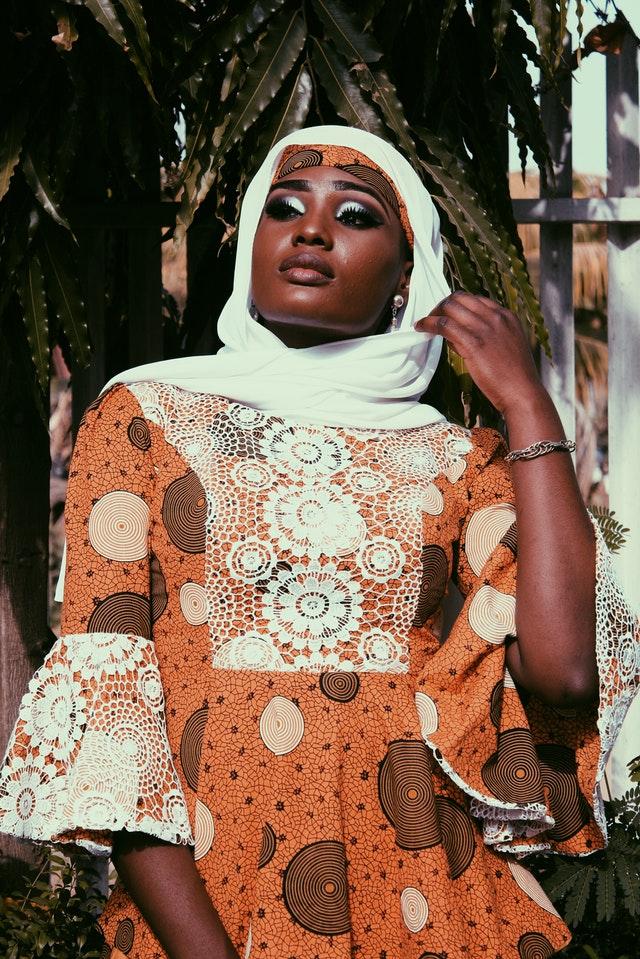 robe africaine longue